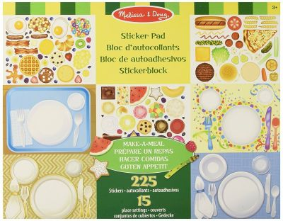 Make a Meal Sticker Pad - Melissa and Doug (£5.99)