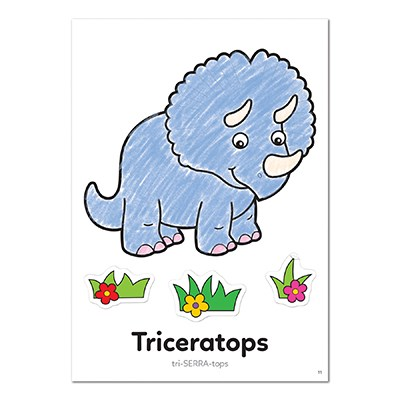 Image 3 of Dinosaur Colouring Book Orchard Toys  (£3.99)