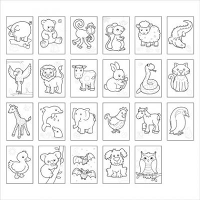 Image 2 of Animals Colouring Book - Orchard Toys (£3.99)