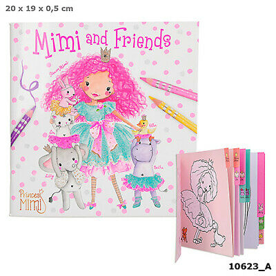 Image 3 of Mimi & Friends Depesche Colouring Book  (£3.99)
