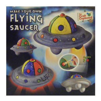 Make Your Own Flying Saucer (£5.75)