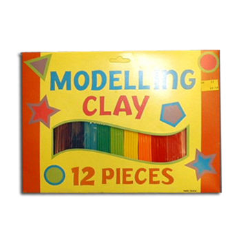Modelling Clay 12 Colours (£1.99)