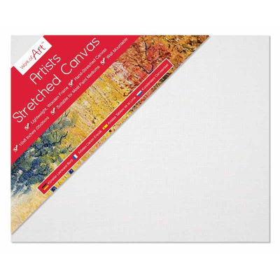 Artists Stretched Canvas 10 (£2.50)