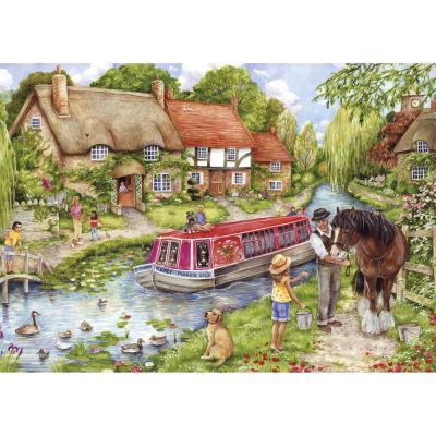 Drifting Downstream Gibsons 500 Piece Jigsaw Puzzle (£12.99)