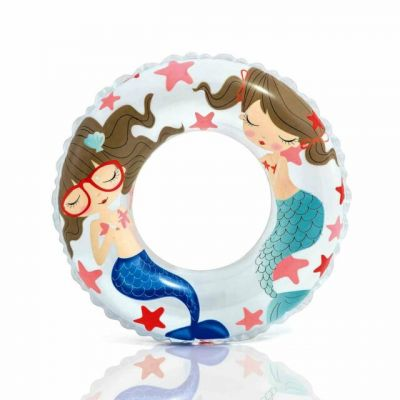 Mermaid Swim Ring - Intex 61cm (£2.50)
