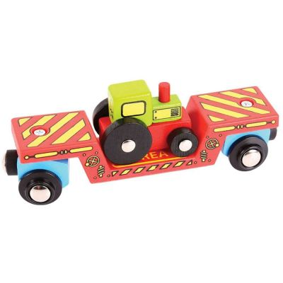 Tractor Low Loader - Bigjigs Toys (£9.99)