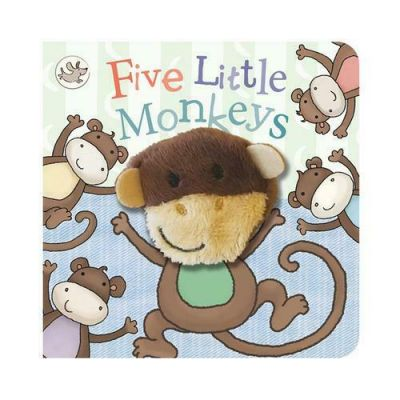 Five Little Monkeys Puppet Book (£4.99)