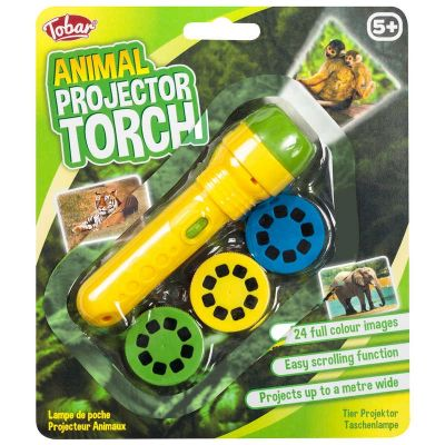 Animal Projector Torch (£4.75)