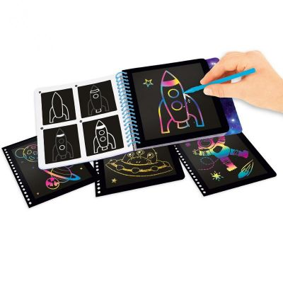 Image 2 of Mini Magic Scratch Book - Space (£4.99)