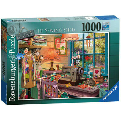 The Sewing Shed 1000 Piece Ravensburger Puzzle (£15.99)
