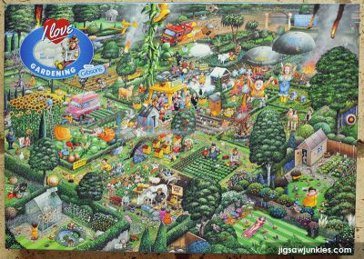 I Love Gardening 1000 Piece Puzzle Gibsons (£16.99)