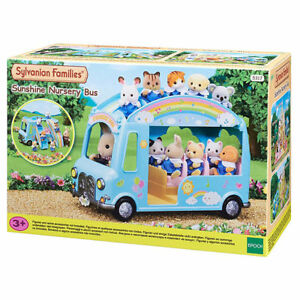 Image 1 of Sunshine Nursery Bus - Sylvanian Families (£22.99)