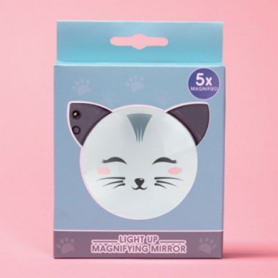 Cat Light Up Mirror - Was £9.99 (£7.99)