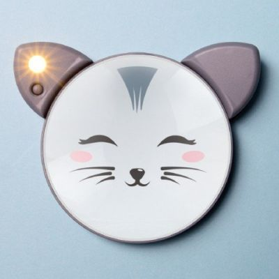 Image 2 of Cat Light Up Mirror - Was £9.99 (£7.99)