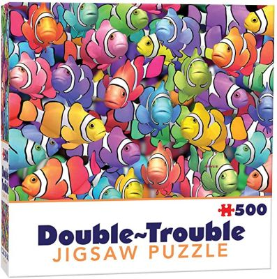 Double Trouble Fish Jigsaw Puzzle 500 pieces (£9.99)
