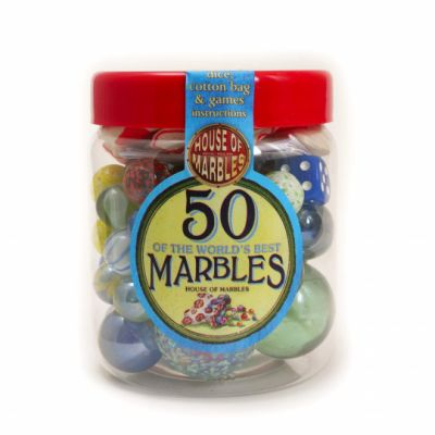Tub Of 50 Marbles (£7.99)