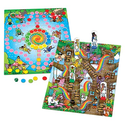 Image 2 of Fairy Snakes & Ladders and Ludo Board Game  (£10.99)