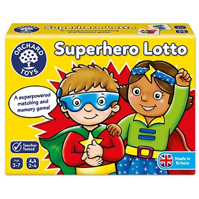 Image 1 of Superhero Lotto Game - Orchard Toys  (£8.99)
