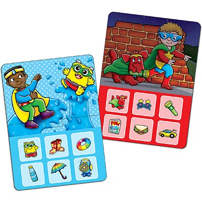 Image 2 of Superhero Lotto Game - Orchard Toys  (£8.99)
