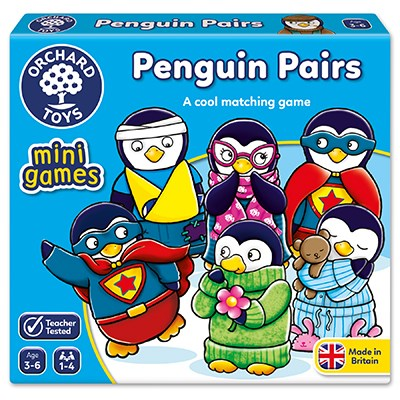 Penguin Pairs Mini Game - Orchard Toys (£5.50)