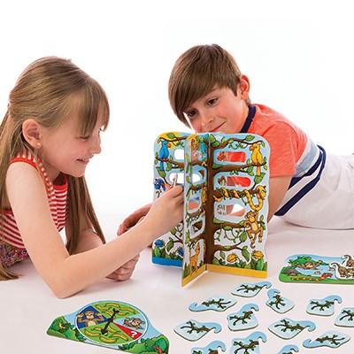 Image 3 of Cheeky Monkeys Game - Orchard Toys  (£10.99)