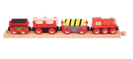 Image 2 of Supplies Train - Bigjigs Toys  (£12.99)