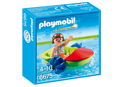 Playmobil Children's Paddle Boat - 6675 (£4.99)