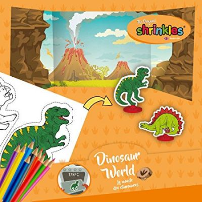 Dinosaur World Shrinkle (£4.99)