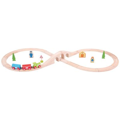 Figure of Eight Train Set - Bigjigs (£26.99)
