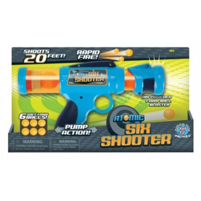Atomic Power Popper Six Shooter (£13.99)