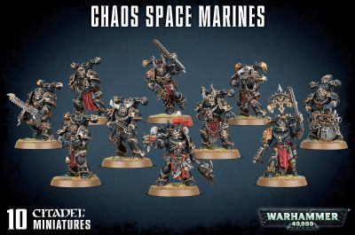 Chaos Space Marines (£35.00)