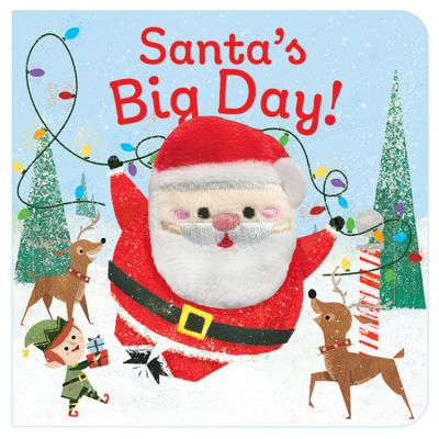 Santa's Big Day Chunky Finger Puppet Book (£4.99)