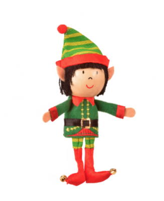 Boy Elf Finger Puppet (£4.50)