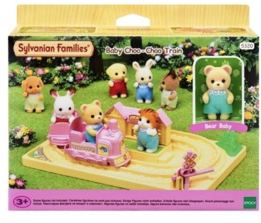 Image 1 of Baby Choo-Choo Train  - Sylvanian Families  (£14.99)