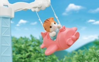 Image 3 of Baby Airplane Ride - Sylvanian Families (£14.99)