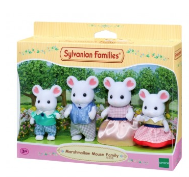 Marshmallow Mouse Family (£18.99)