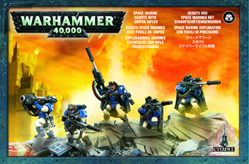 Space Marine Scout Squad With Sniper Rifles (£17.50)