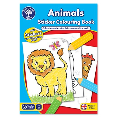 Animals Colouring Book - Orchard Toys (£3.99)