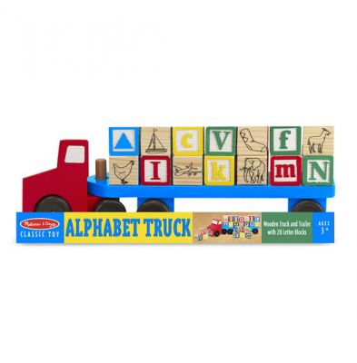 Alphabet Truck Melissa and Doug (£18.99)