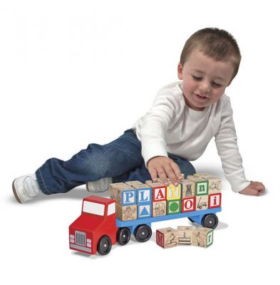 Image 2 of Alphabet Truck Melissa and Doug (£18.99)