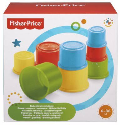 Fisher Price Building Beakers (£4.99)