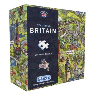 Beautiful Britain 500 Piece Jigsaw Puzzle (£12.99)
