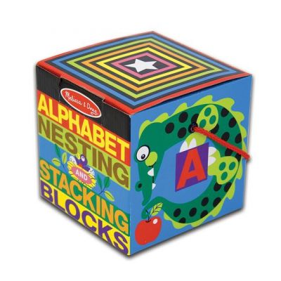 Alphabet Nesting and Stacking Blocks (£14.99)