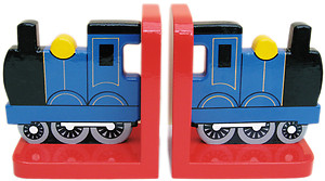 Blue Train Bookends (£17.99)