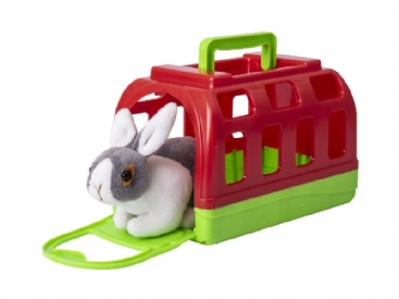 Bunny Carry Case Critter Pink (£7.99)
