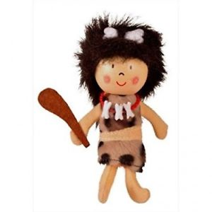 Cave Woman Finger Puppet - Fiesta Crafts (£3.99)
