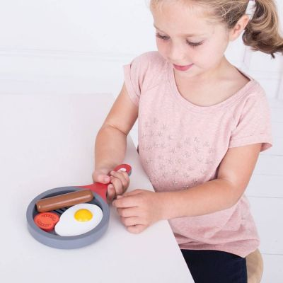 Image 3 of Cooked Breakfast Set  - Bigjigs  (£10.99)