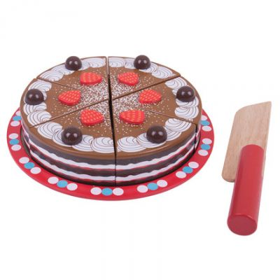 Chocolate Cake - Bigjigs Toys (£19.99)