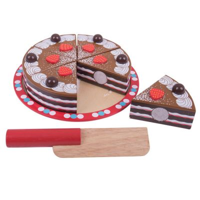Image 2 of Chocolate Cake - Bigjigs Toys  (£19.99)