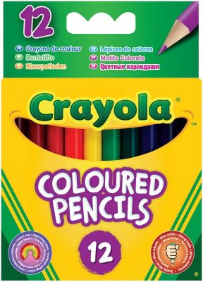 Crayola Coloured Pencils (£1.99)